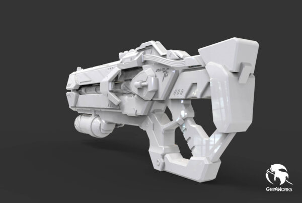 Soldier 76 Heavy Pulse Rifle | Cyborg Skin