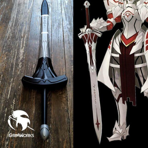 Mordred Sword 3D printed Replica