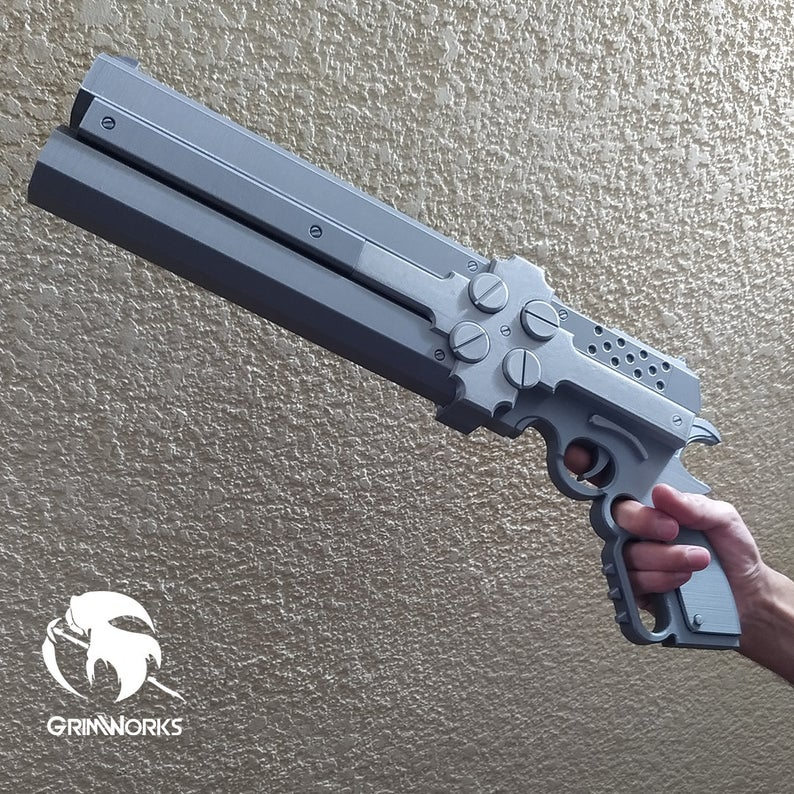 Gerberus Gungrave, 3D Replica