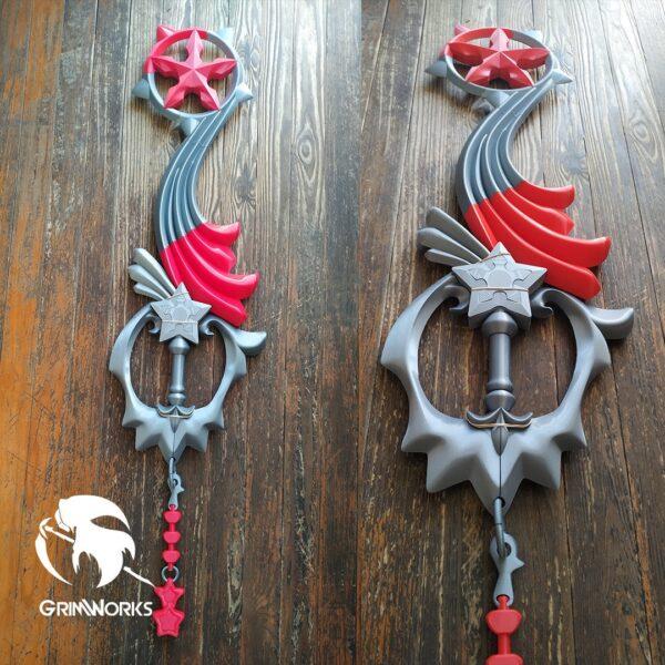 Shooting Star keyblade 3D Printed replica