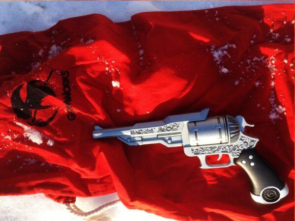 Final Fantasy 15, Prompto gun, argentum
