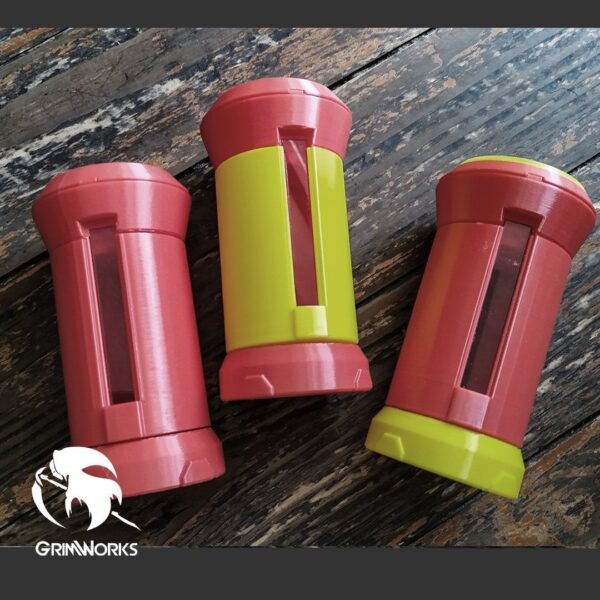 Ashe Grenades, set of 3 LED Adaptable