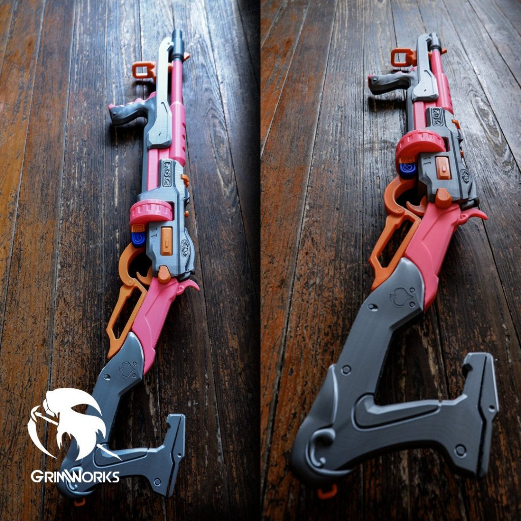 Ashe Viper Rifle - Mobster Skin , OW Rifle Gun