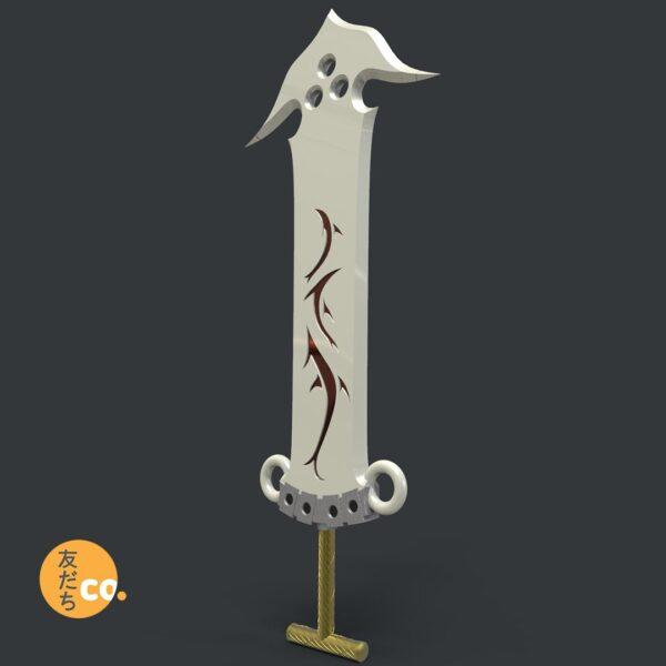 Jecht Sword, 3d printed replica FFX