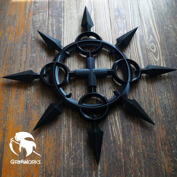 Axel's Chakrams 3D printed   Kingdom Hearts
