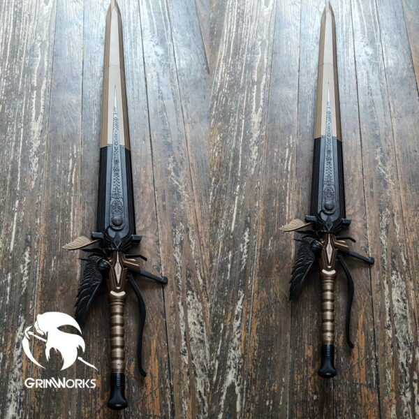 Sword of the Father, King Regis Sword of the Father 3D Printed Kit