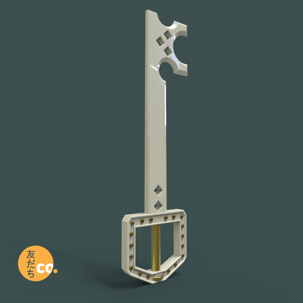 Metal Chocobo Keyblade