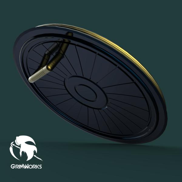 Sophitia Shield 3d printed, Version 2