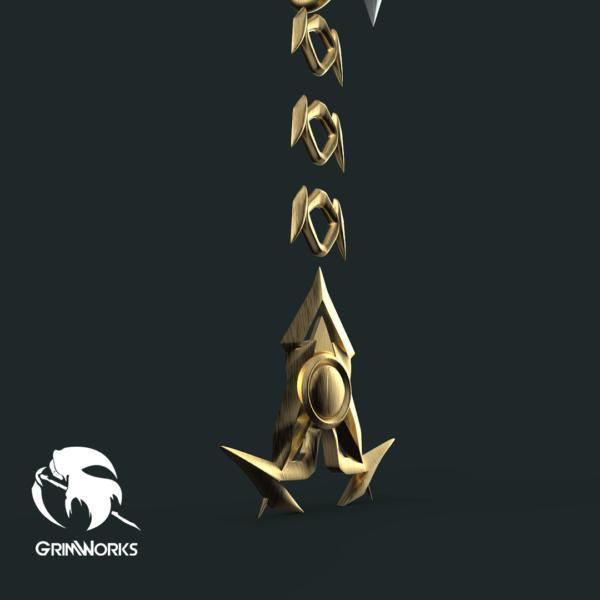 Gula Keyblade, 3d printed replica