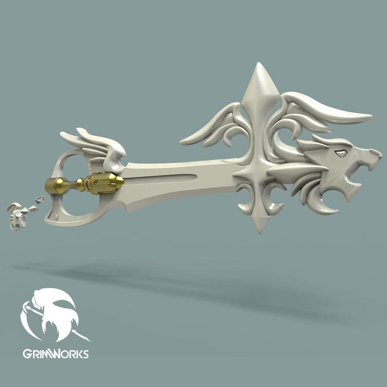Sleeping Lion Keyblade
