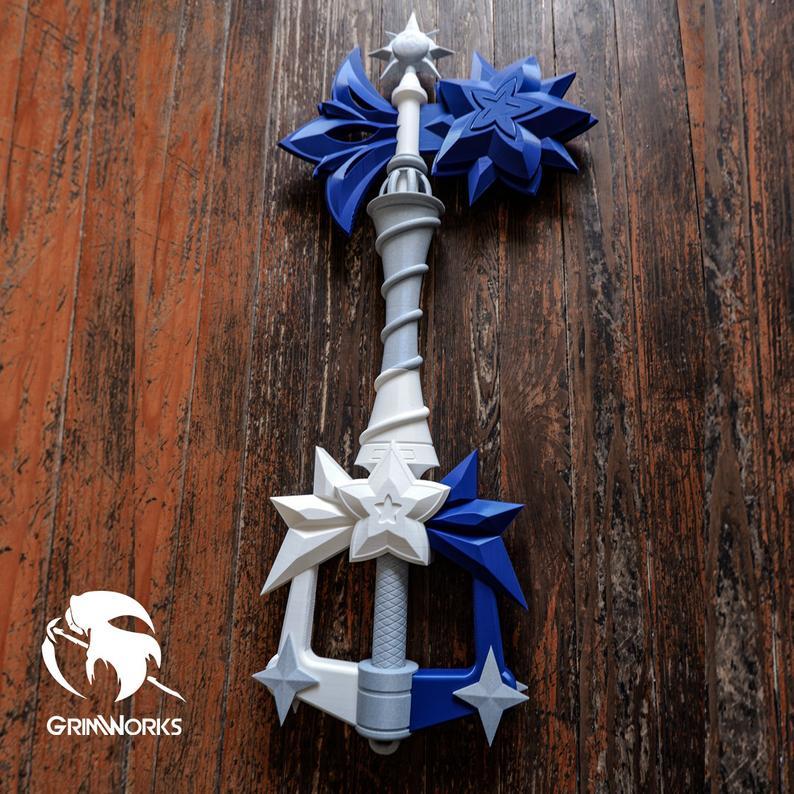 Starlight Keyblade Upgraded version, 3D printed